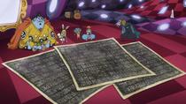 Brook Reveals Poneglyph Copies