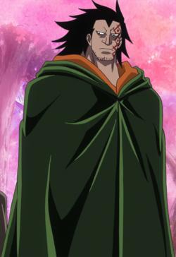 Monkey D. Dragon anime