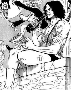 Miss Monday Manga Post Timeskip Infobox