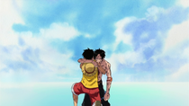 Luffy and Ace's Last Moments