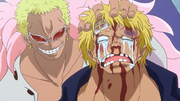 Bellamy Brutalized by Doflamingo