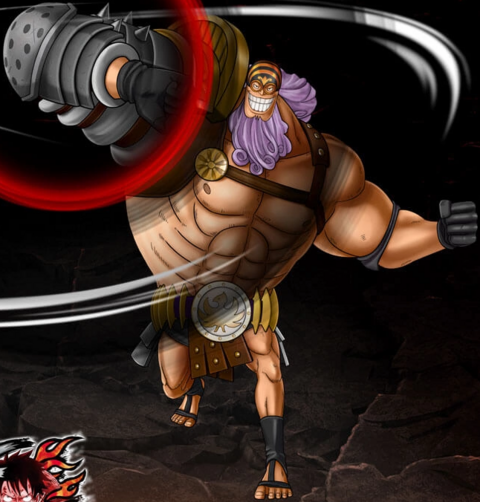 File:One Piece Burning Blood Jesus Burgess (Artwork).png