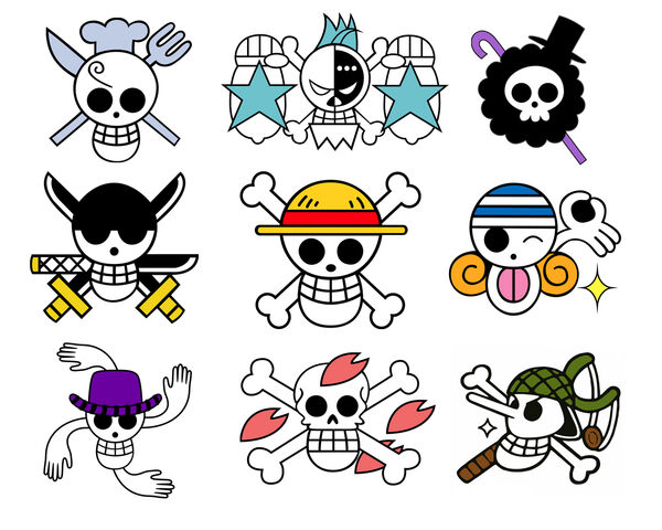 File:Straw Hats Crew Jolly Rogers White.jpg