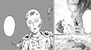 Saitama comes out off ship