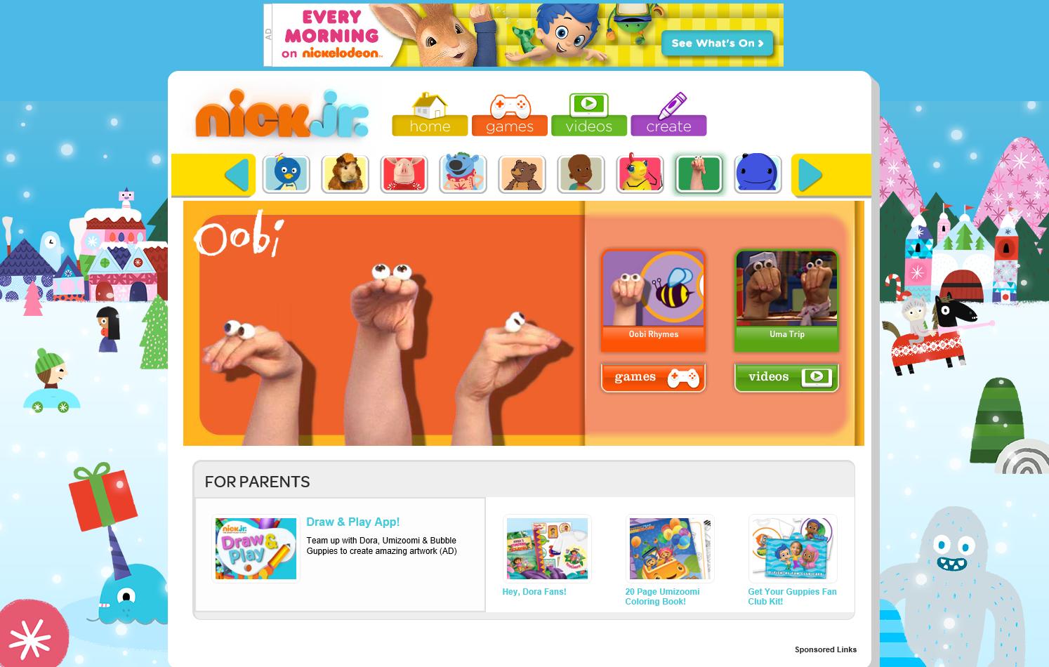 nickjr com preschool games nickjr oobi wiki fandom powered by wikia 973