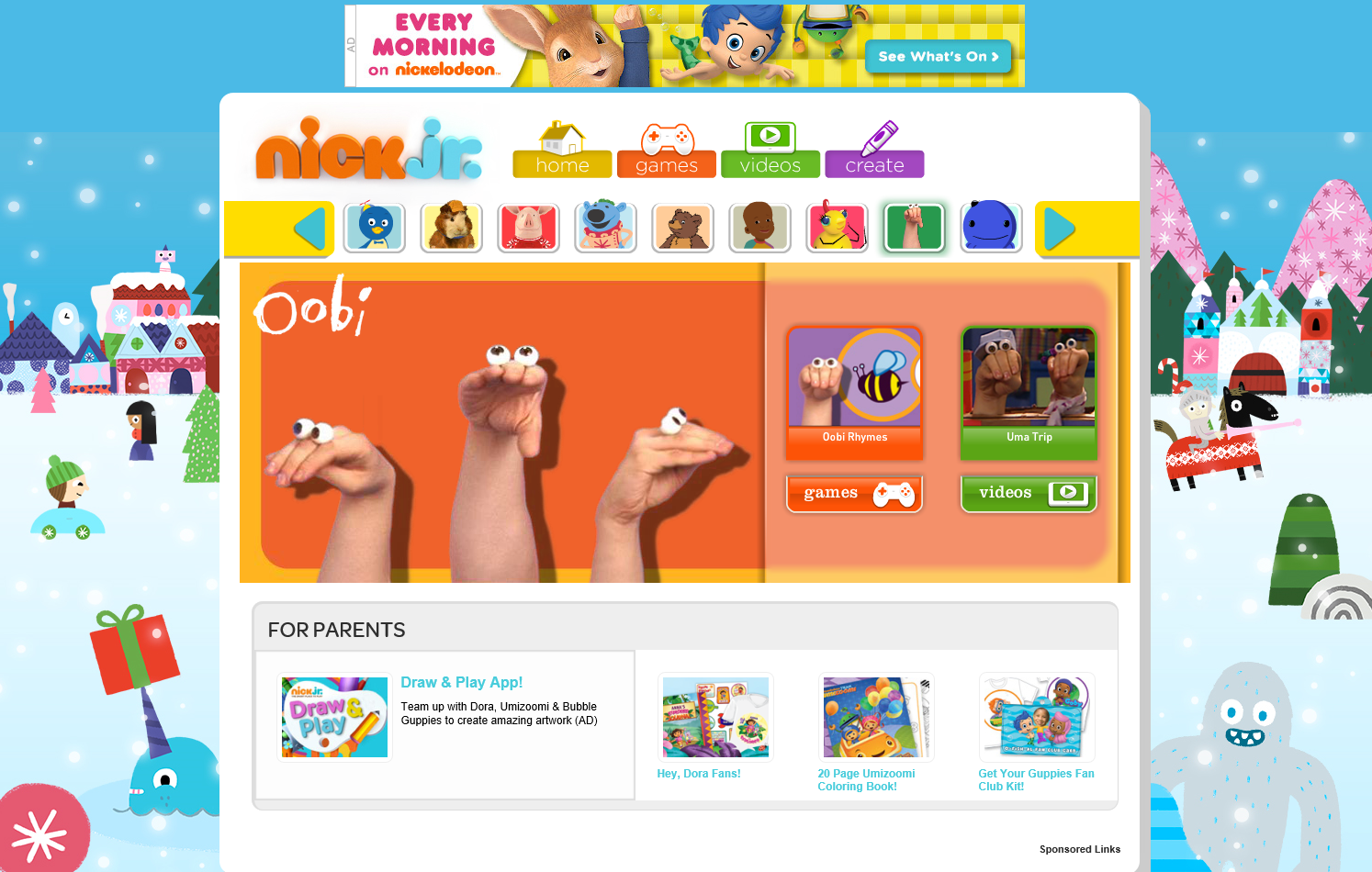 Nickelodeon Games | GameHouse