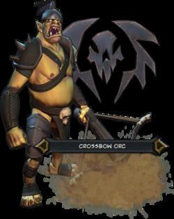 Crossbow Orcs Render