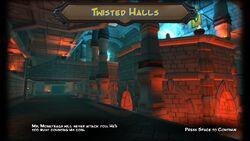 Twisted Halls