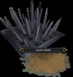 Floor Spikes Render