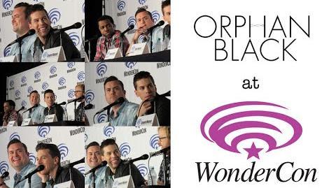 WonderCon 2016 Orphan Black panel