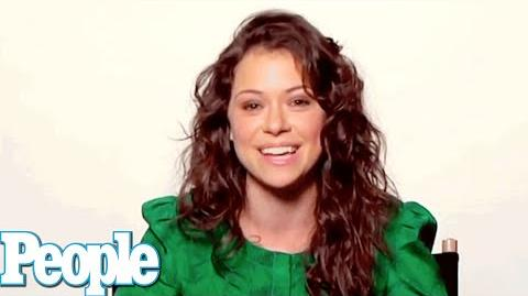 """Orphan Black"" Star Tatiana Maslany Talks Clones, Accents & Nudity Up Close PEOPLE"