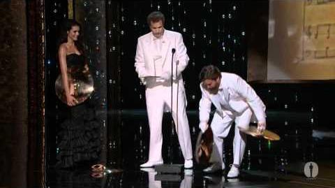 """Man or Muppet"" from ""The Muppets"" winning Best Original Song"