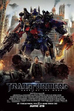 Transformers 3 poster