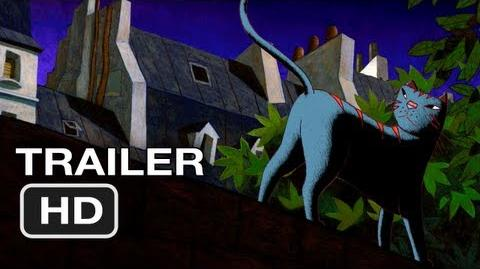 A Cat in Paris Movie Official Trailer 1 (2012) HD Movie