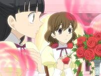 Sakurazuka as Haruhi's guest