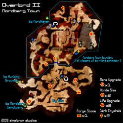 Nordberg Town Map