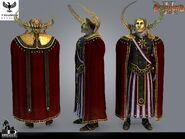 Emperor Solarius CG Model