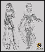 Velvet Sketch