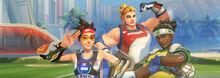 Summer Games Mini Banner