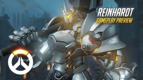 Overwatch Reinhardt Gameplay Preview 1080p HD, 60 FPS