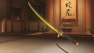 Genji azurite golden dragonblade
