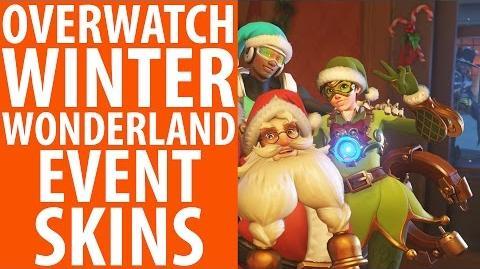 Overwatch Winter Wonderland Christmas Skins, Emotes and Cosmetics