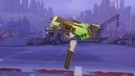 Sombra glitch golden machinepistol