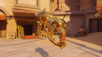 Roadhog golden scrapgun