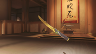 Genji ochre golden wakizashi