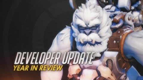 Developer Update Year in Review Overwatch