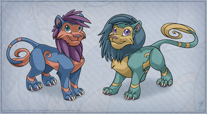 Ovipets feline species by thazumi-d49fd00