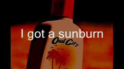 Owl City - Sunburn Lyrics