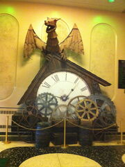 Clock of the Time Dragon musical