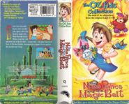 The nome prince and the magic belt vhs box