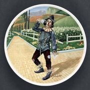 Scarecrowchinaplate
