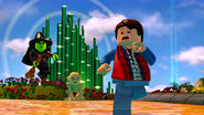 Lego Dimensions The Wicked Witch of the West chasing Marty Mcfly