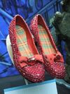 Ruby slippers return to oz