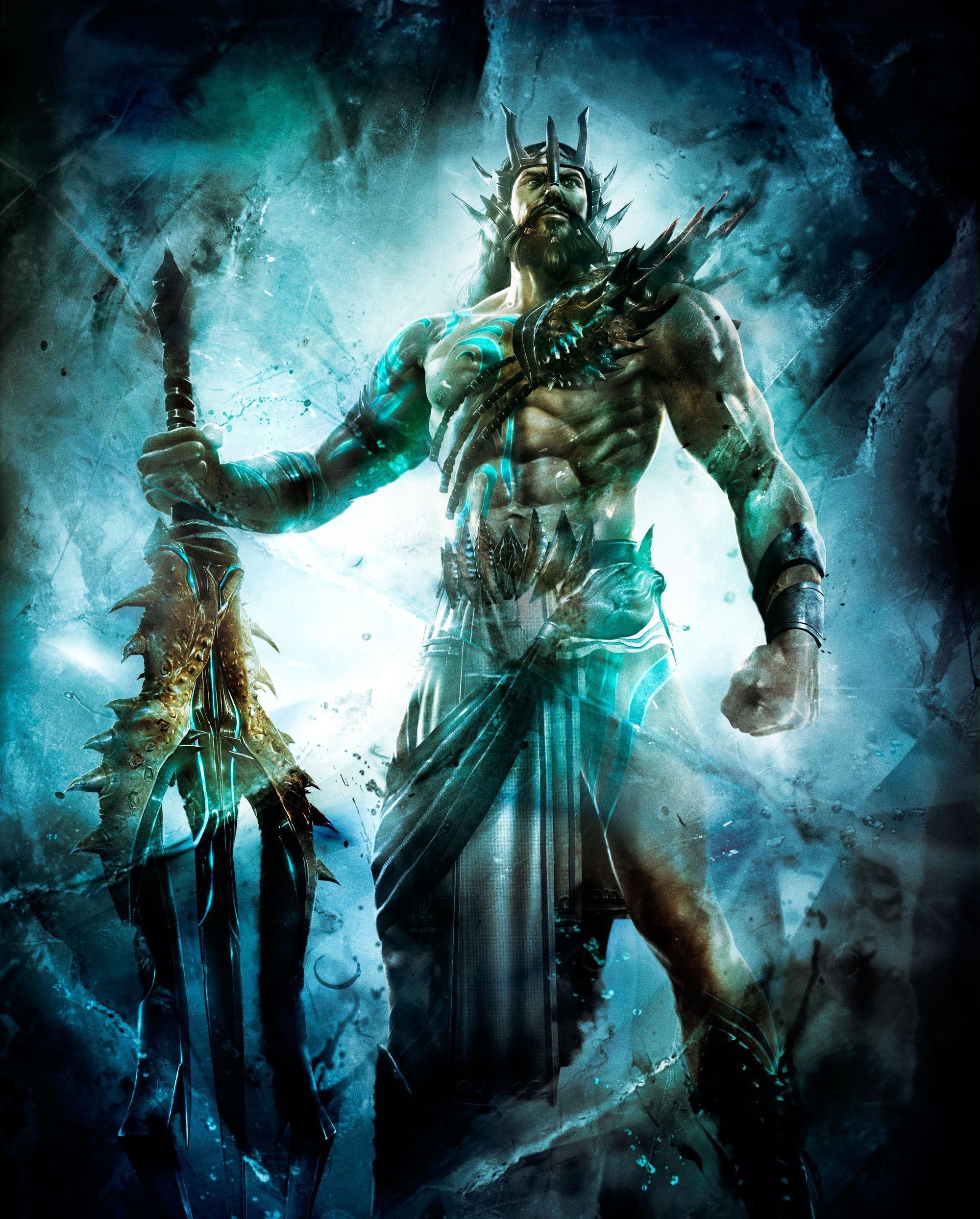 Poseidon (God of War) | Heroes Wiki | Fandom powered by Wikia