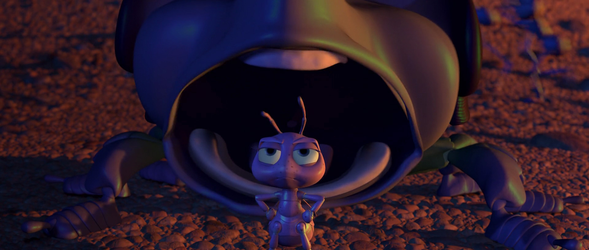 This is a graphic of Bright A Bugs Life Dot