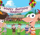 """""""Feliz cumpleaños, Isabella"""""""