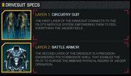Jaeger Suit Specs