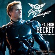 Raleigh Becket Poster