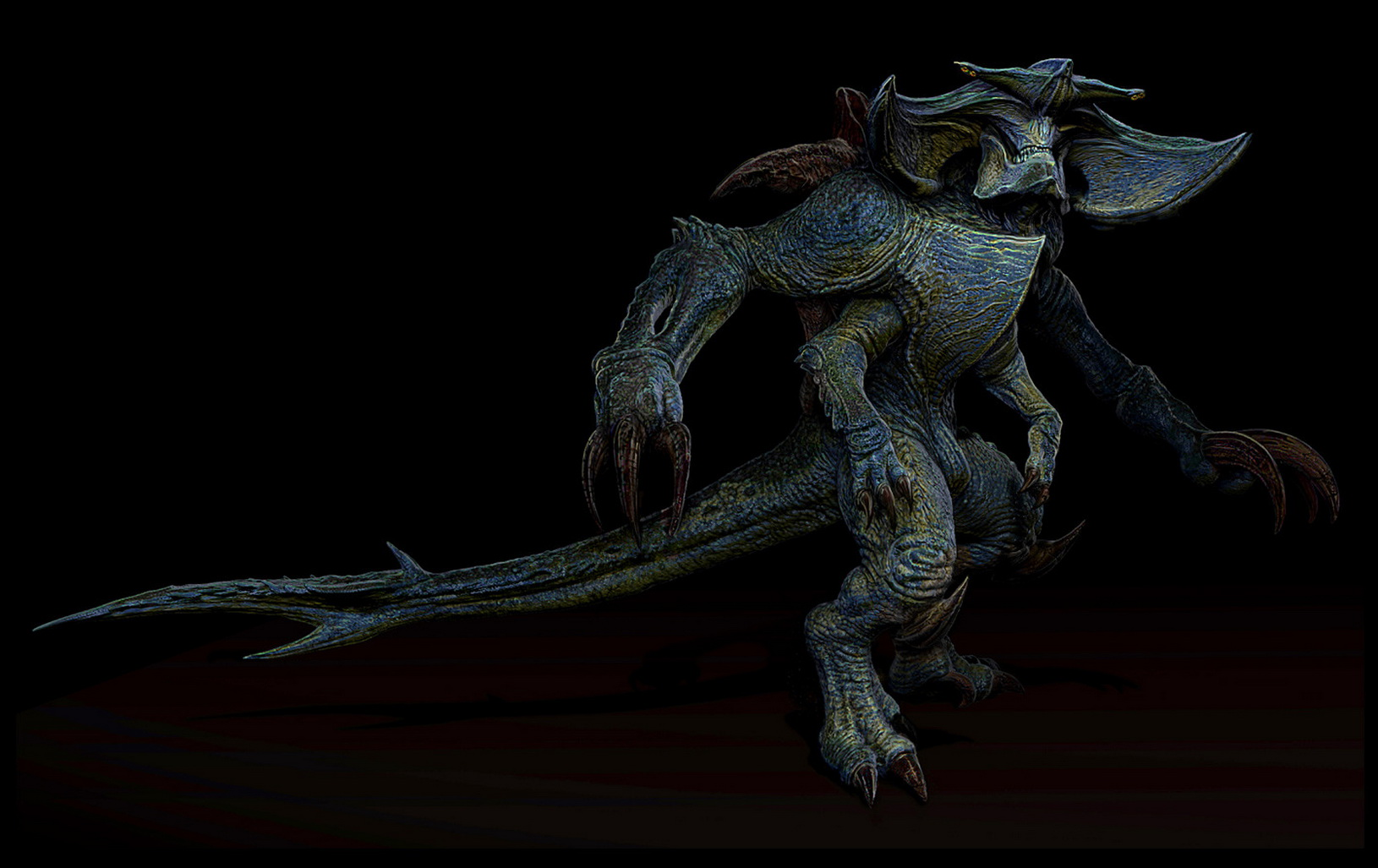 Image - Scunner kaiju concept2.jpg | Pacific Rim Wiki ... Pacific Rim Scunner Drawing