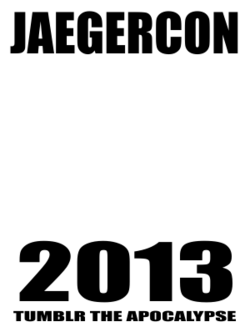 Jaegercon Badge Template
