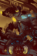 Pacific Rim (Gold Variant) by evin Tong