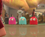 Wreck It Ralph Pacman ghosts cameo