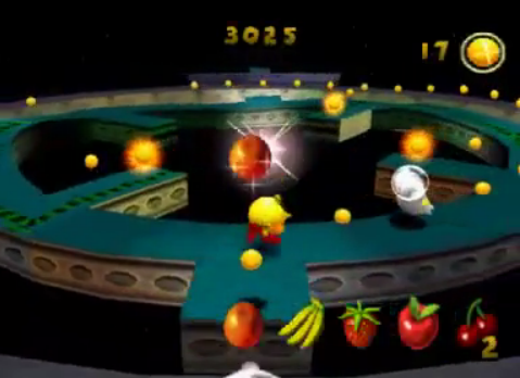 Image result for pac-man world ps1 space