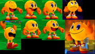 Pac-Man expression in Pac-Man Party