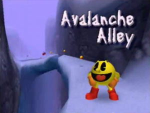 Avalanche Alley Title Screen