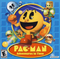 Pac-Man - Adventures in Time Coverart
